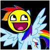 Rainbowdash awesome face :D