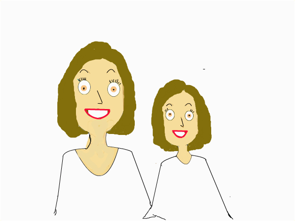 Mother-Daughter Teeth Whitening