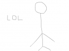 mr sanchez's stick figure