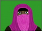 Pink Hijab and Niqab