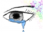 What colorful tears