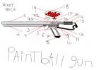 homeade paintball gun design plans