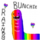 My version of the Rainbow Bunchie v.2
