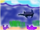 4 sadie (sea turtle in sea)