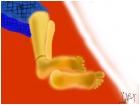 Tom's feet