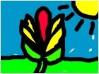 the magic flower