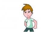 Angry kid gamer