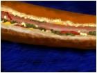 Foot Long Hot Dog, No Chili