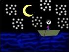 boy on a boat ride