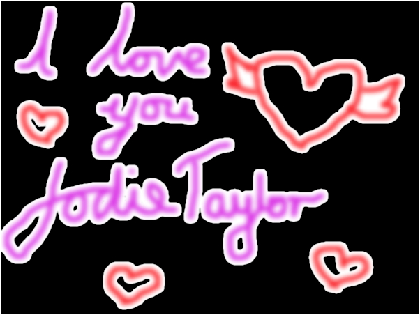 i love you jodie taylor