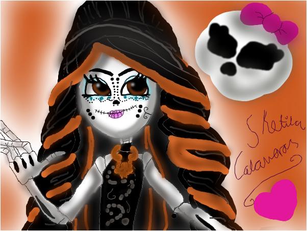Skelita calaveras form Monster High