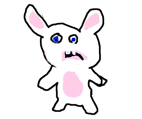 bad raving rabbid bunny