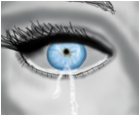 Blue Crying Eyes