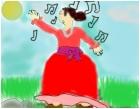 lady singing