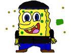 gangster sponge bob!