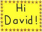 Hi David!