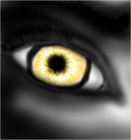 the human golden eye