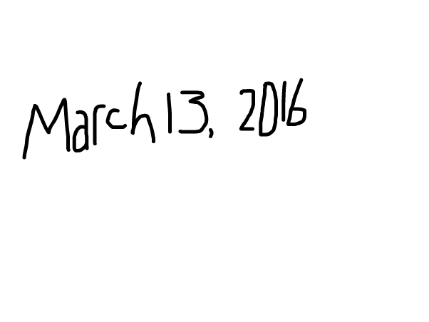 March 13, 2016
