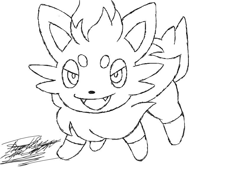 Zorua the Tricky Fox Pokémon