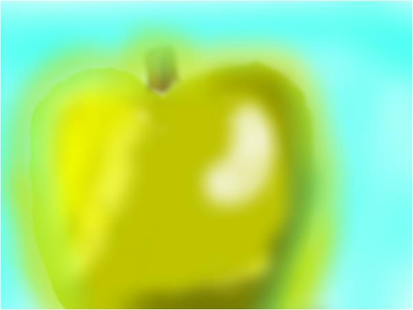 shiny gold apple