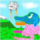 Цветная собака и SADAWADkA