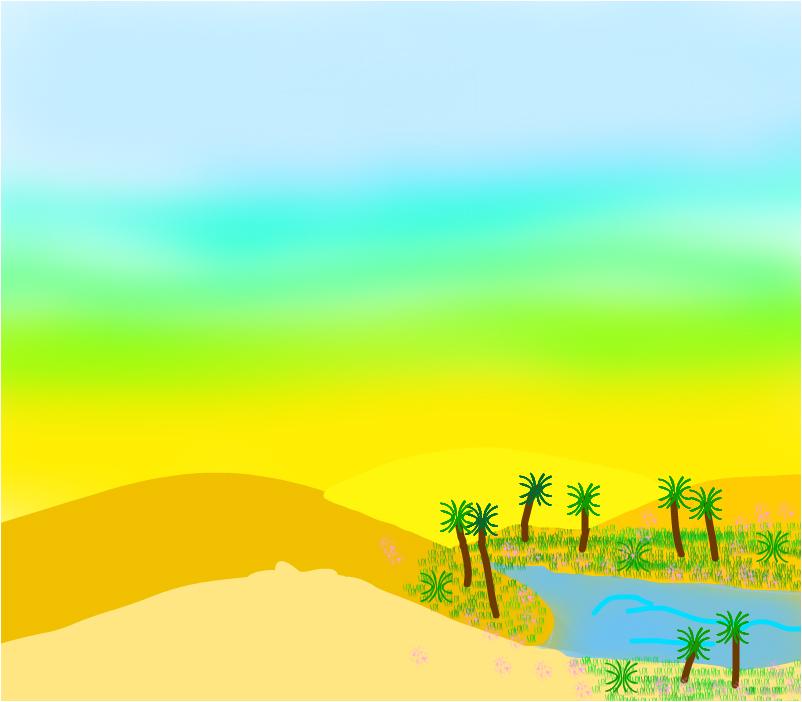 Одно местечко В пустыне....