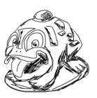 zuma frog art 1