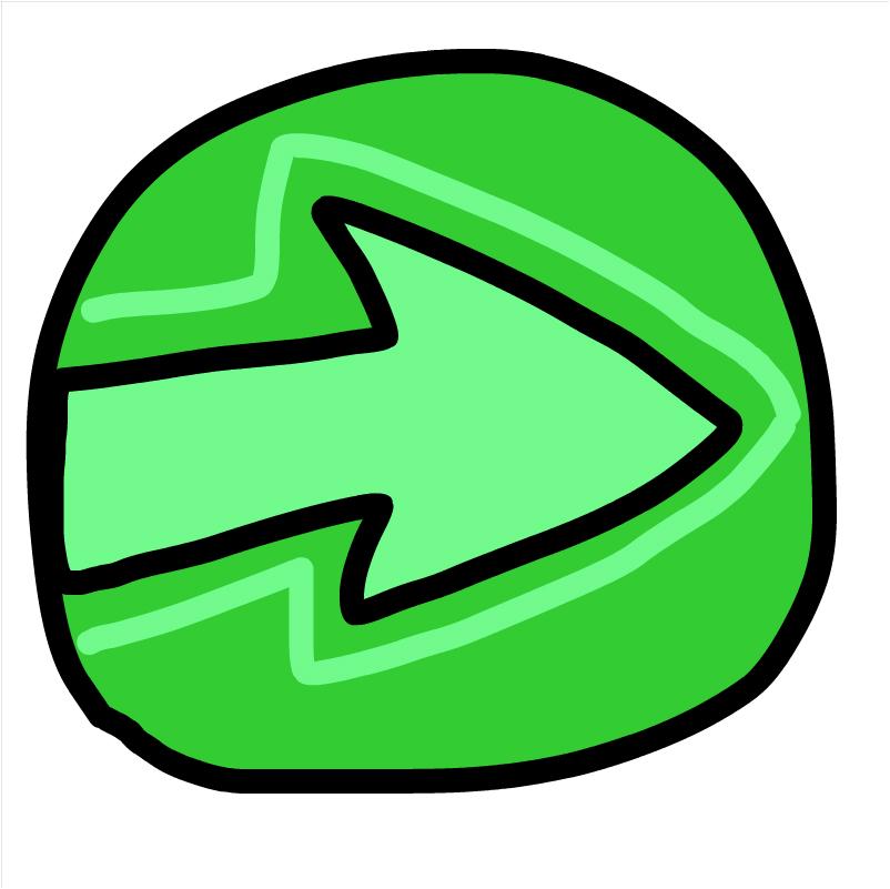 ba back wards green zuma deluxe art