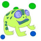 zuma frog balls 4 art
