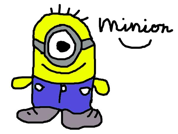 say hello minion