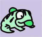 zuma frog art
