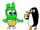 peni penguin requets party's cheesee