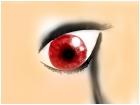emo eye crying >v<