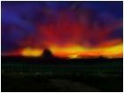 mighty sunset