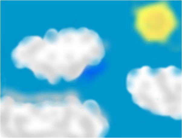 sunny sky :D