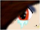 Emo Anime girl crying